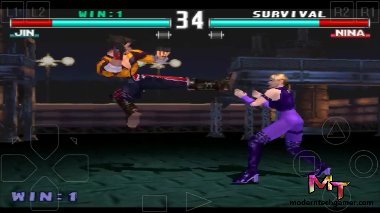%tekken 3 gameplay screen shot
