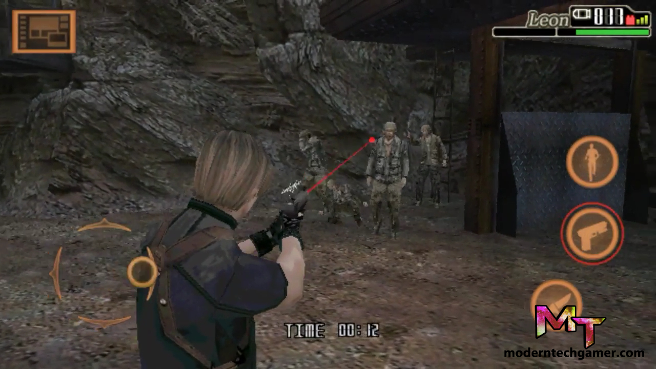 %resident evil 4 gameplay screen shot