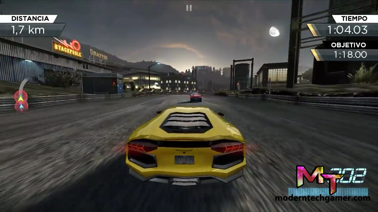 Need for speed most wanted v1 apk mod obb data for Nfs most wanted android