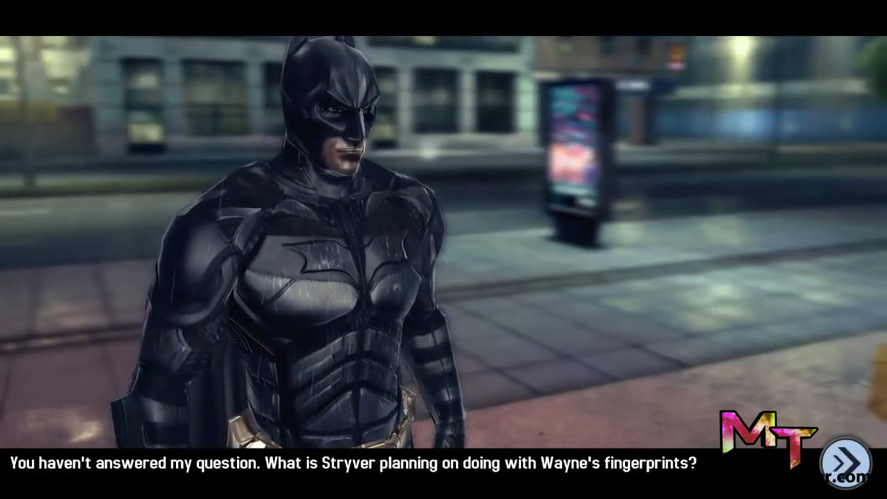 the dark knight rises gameplay screen shot 1