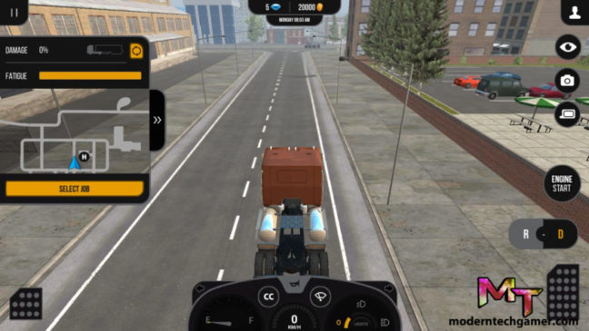 truck simulator pro 2 gameplay screenshot 2
