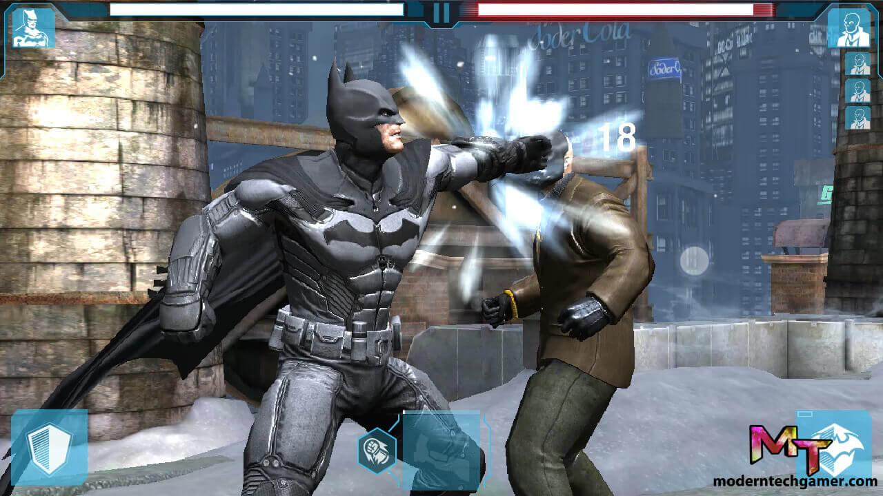 batman arkham origins apk gameplay 2